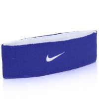 Testeira Nike Dupla Face Dri-Fit Home & Away Branca e Azul
