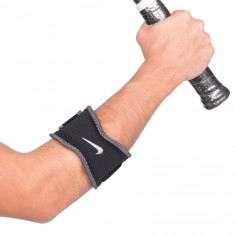 Tennis Elbow Band Nike Preto e Cinza G